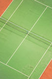 Tennis Court at night Stock Photos