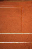 Tennis court Royalty Free Stock Image