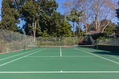 Tennis Court Secluded Stock Photos