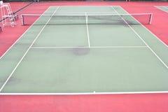 Tennis Court sport outdoor Stock Photo