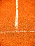 Tennis court with t-line (266). Tennis court with t-line, outside in a tennis court Stock Photography