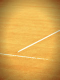 Tennis court  270. Tennis court with t-line 270 Stock Image