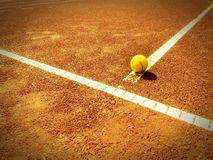Tennis court 337 Royalty Free Stock Photo