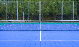 Tennis Court at tennis club Stock Photography