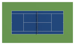 Tennis court. US open tennis Royalty Free Stock Images
