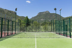 Tennis court. Royalty Free Stock Photo