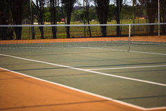 Tennis court wide Stock Image