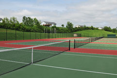 Tennis courts Stock Images