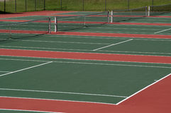 Tennis Courts Royalty Free Stock Photography