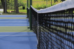 tennis courts Stock Photography