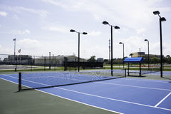 Tennis Courts Stock Image
