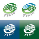 Tennis cup set of symbols Royalty Free Stock Image
