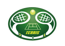Tennis cup symbol Stock Photo