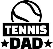 Tennis dad. Player vector sports Stock Image