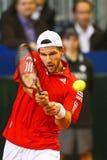 Tennis Davis Cup Austria vs. France Stock Photo