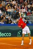 Tennis Davis Cup Austria vs. France Stock Photos