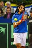 Tennis Davis Cup Austria vs. France Royalty Free Stock Photography
