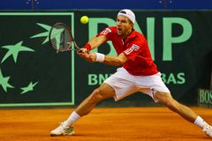 Tennis Davis Cup Austria vs. France Stock Photo