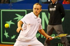 Tennis Davis Cup Austria vs. France Royalty Free Stock Image