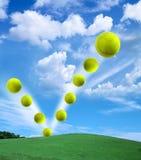 tennis de bille Photos stock