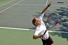 tennis de joueur Photographie stock