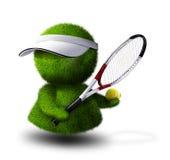 tennis de joueur illustration de vecteur