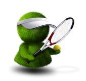 tennis de joueur illustration libre de droits