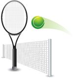 tennis de projectile Photographie stock libre de droits