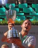 Tennis de Viktor Troicki Photographie stock libre de droits