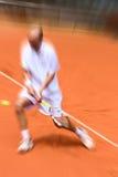 tennis del giocatore Fotografia Stock