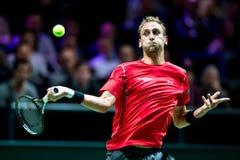 Tennis dell'interno di giro di Thiemo de Bakker ATP World Immagini Stock