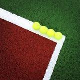 Tennis della famiglia Immagini Stock