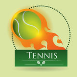 Tennis design Royalty Free Stock Image