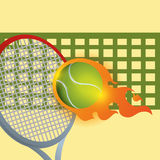 Tennis design Stock Photography