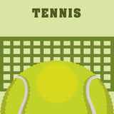 Tennis design Royalty Free Stock Photography