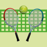 Tennis design Royalty Free Stock Photos