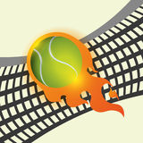 Tennis design. Tennis digital design, vector illustration 10 eps graphic Royalty Free Stock Images