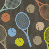 Tennis design grunge Stock Photo