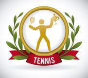 Tennis design Stock Image