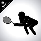 Tennis design Royalty Free Stock Photo
