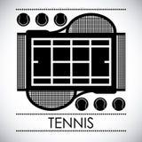 Tennis design stock illustration