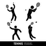 Tennis  design Stock Images