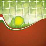 Tennis design Stock Photography