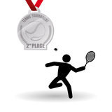 Tennis design. Sport icon.  illustration, editable vector Royalty Free Stock Photo