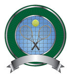 Tennis Design Template Burst Royalty Free Stock Photography