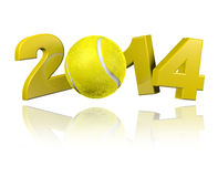 Tennis 2014 design Royalty Free Stock Photo