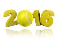Tennis 2016 design Royalty Free Stock Photo