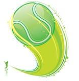 Tennis di Olaying Immagine Stock Libera da Diritti