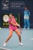 tennis di rus del giocatore di Nadia Petrova Fotografie Stock Libere da Diritti