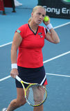 tennis di svetlana di rus del giocatore di kuznetsova Immagine Stock